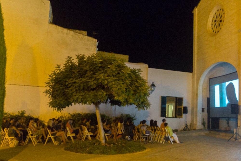 Festival de Cinema de Menorca a la Plaça de la Catedral de Ciutadella