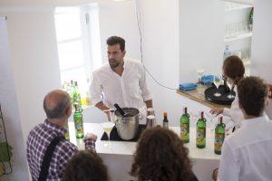 Gin Xoriguer present a la presentació