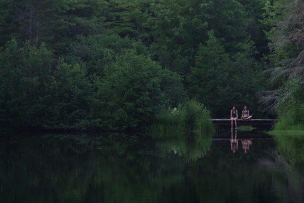 L'étang, la nuit